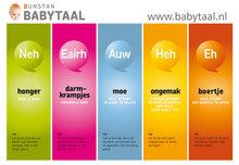 Poster Dunstan Babytaal